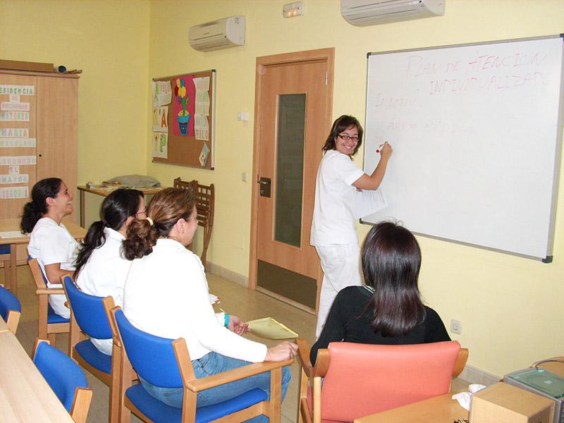 Formación y sesiones profesionales